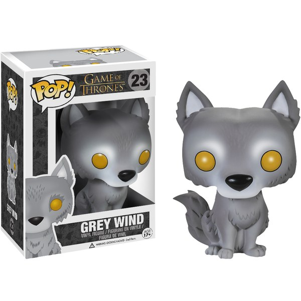 Game of Thrones Grey Wind Direwolf Exclusive Pop! Vinyl Figure
