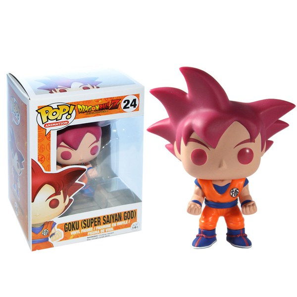 Dragonball Z Goku Super Saiyan God Exclusive Pop Vinyl