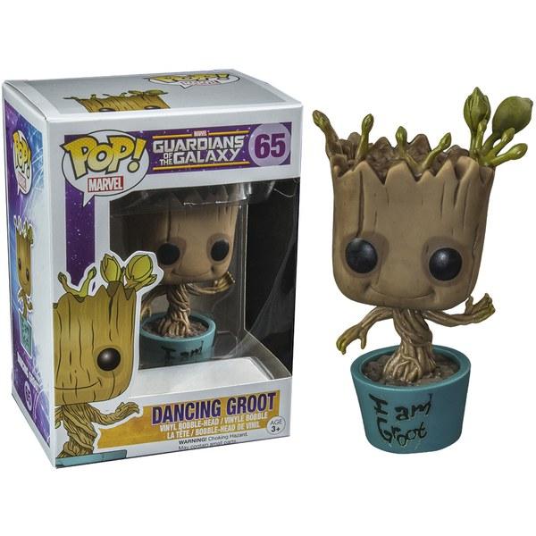 Marvel Guardians of the Galaxy I Am Dancing Groot Exclusive Pop! Vinyl Figure