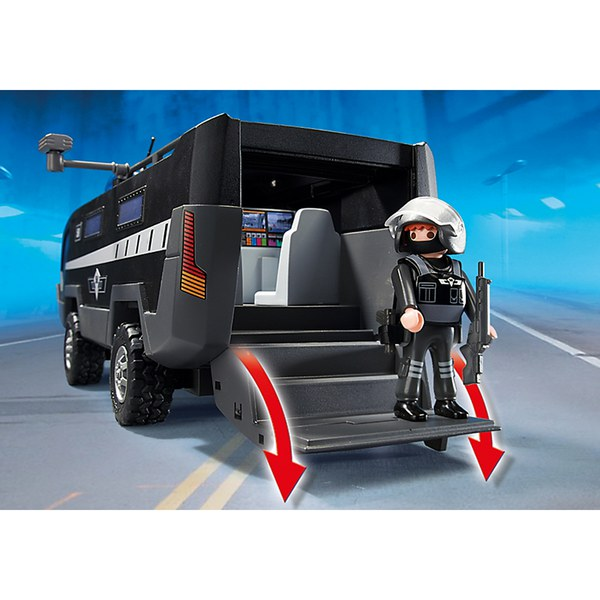 playmobil tactical unit command vehicle 5564 toys zavvi us. Black Bedroom Furniture Sets. Home Design Ideas