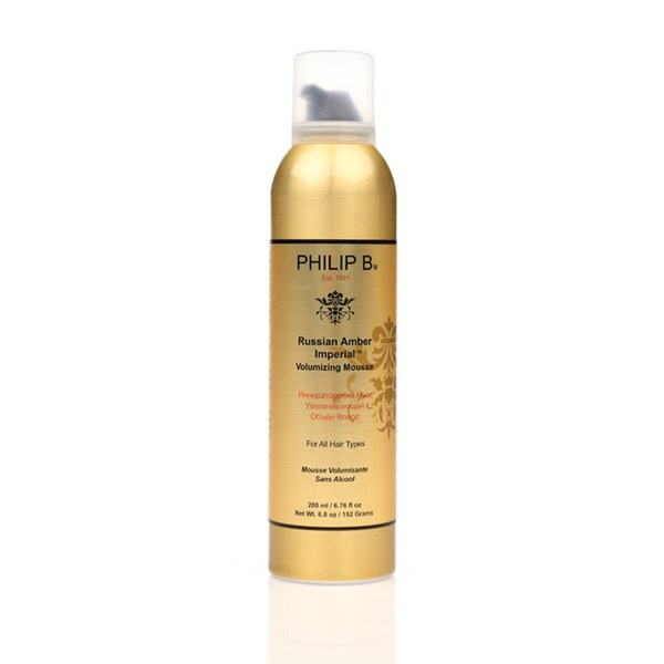 Mousse volumisante Russian Amber Imperial de Philip B (200ml)