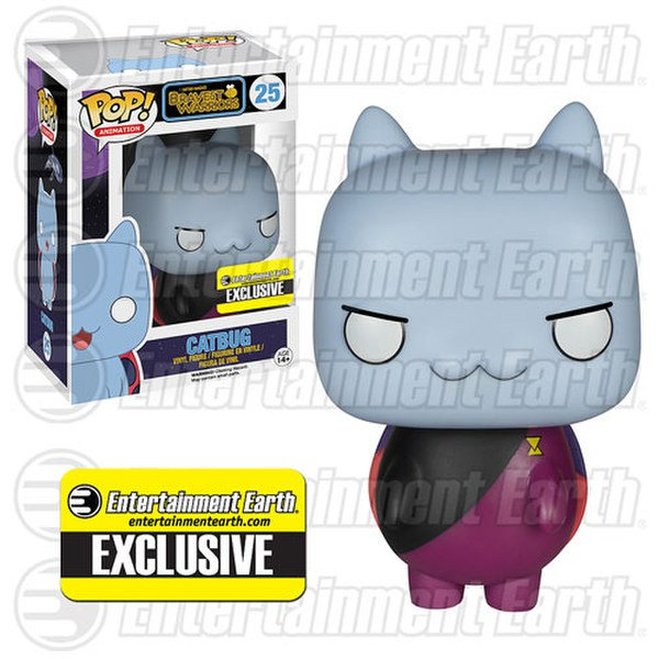 Bravest Warriors Commander Catbug Entertainment Earth