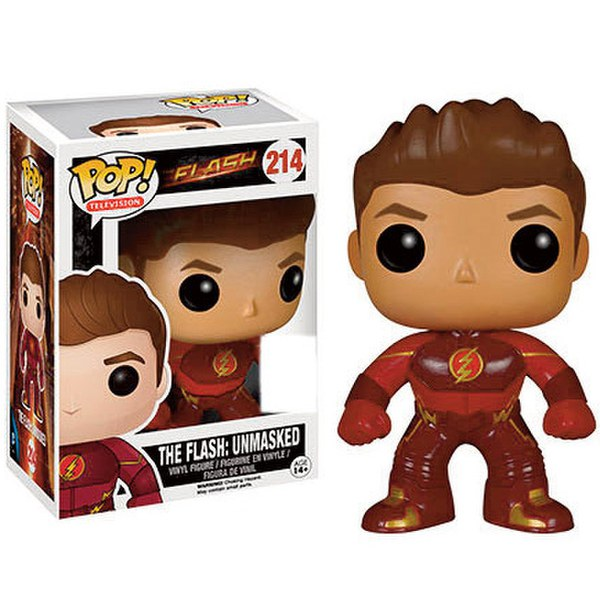 Dc Comics Flash Tv Series Unmasked Sdcc Exclusive Pop