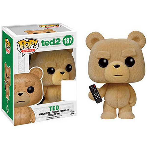 Ted 2 Flocked SDCC Exclusive Pop! Vinyl Figure