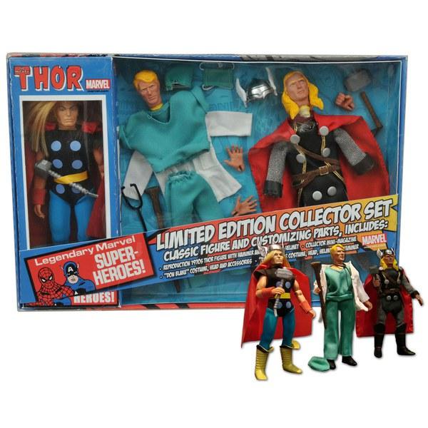 Coffret Collector Figurines Marvel Rétro - Thor Édition Limitée