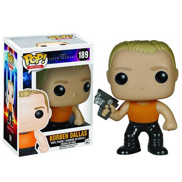 The Fifth Element Korben Dallas Pop! Vinyl Figure