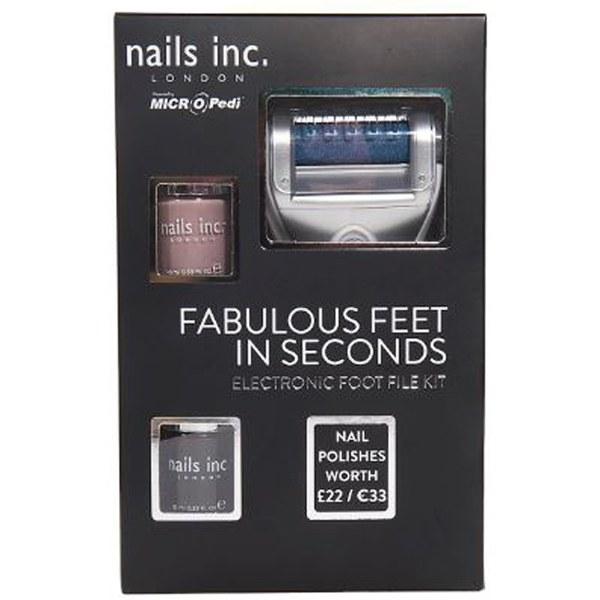 MICRO Pedi Nails Inc. Lime pour piedsélectronique fournieparMicro Pedi