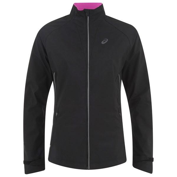 Asics Women's Windstopper Running Jacket - Performance Black
