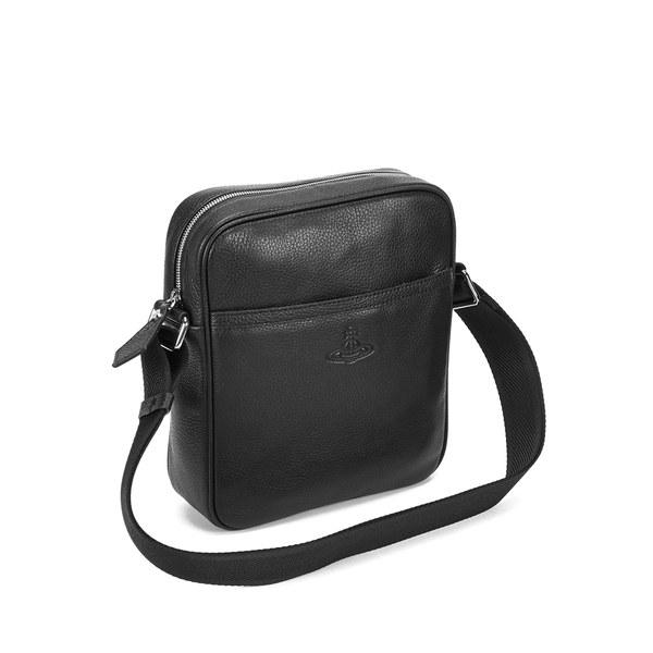Vivienne Westwood Man Men S Leather Small Cross Body Bag