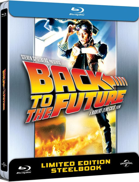 Back to The Future - Limited Edition Steelbook