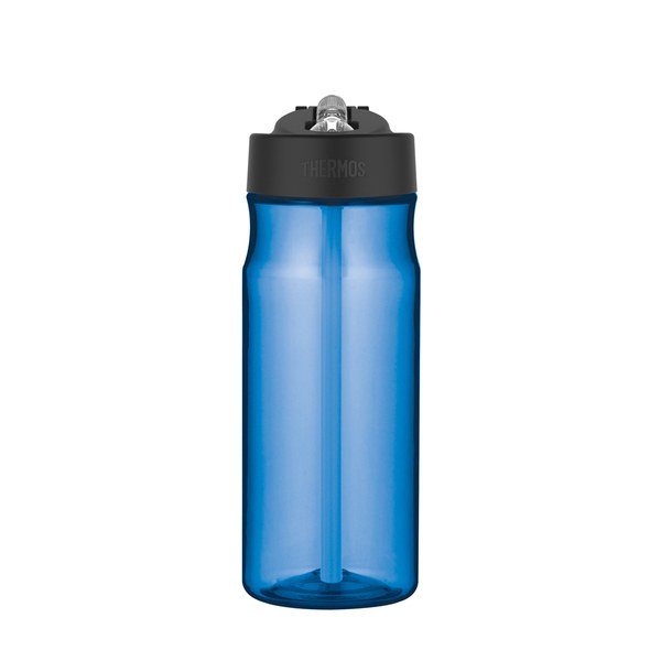 Thermos Intak Hydration Straw Bottle - Blue (530ml)