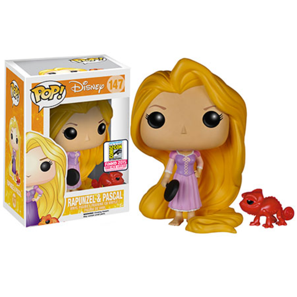 Tangled Rapunzel with Frying Pan SDCC Exclusive Pop! Vinyl