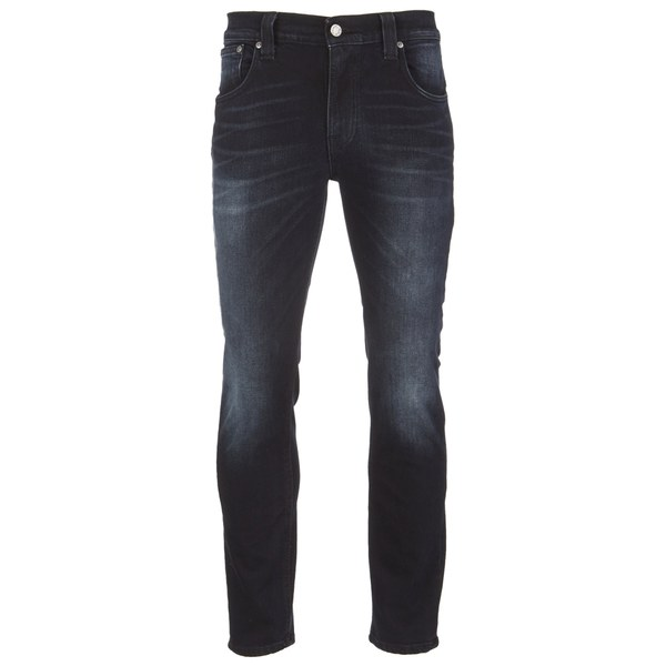 Nudie Jeans Men's Thin Finn Tight Fit Narrow Leg Jeans - Mortal Indigo