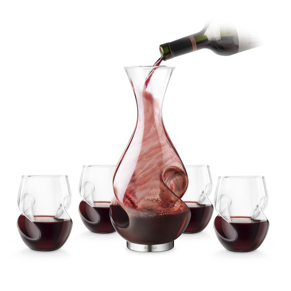 Conundrum Decanter and Glass Set