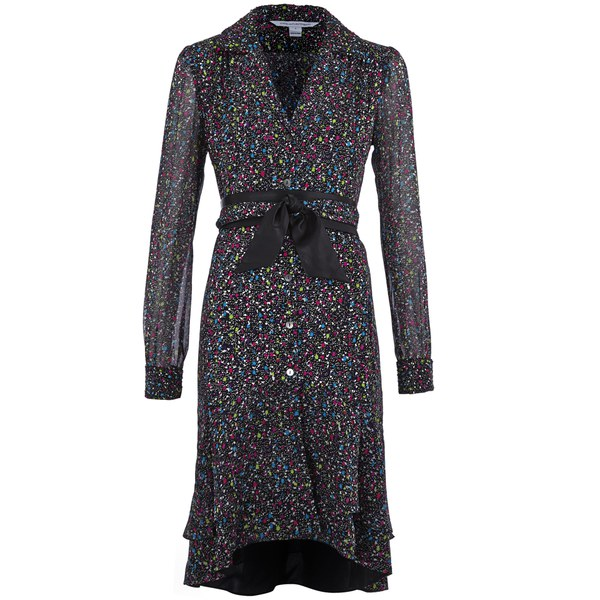 Diane von Furstenberg Women's Catherine Dress - Femme Tweed