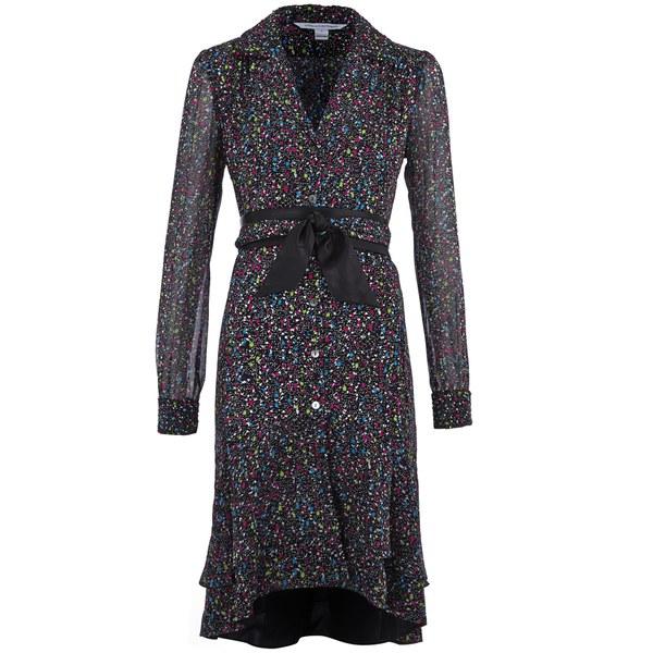Diane Von Furstenberg Women S Catherine Dress Femme Tweed Image 1