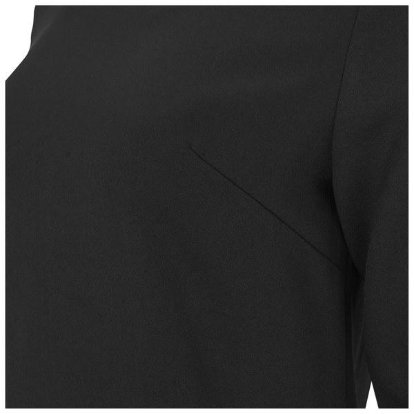 lavish alice women 39 s tassel hem shift dress black damenbekleidung. Black Bedroom Furniture Sets. Home Design Ideas