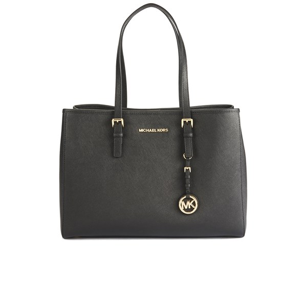 MICHAEL MICHAEL KORS Women's Jet Set Tote Bag - Black