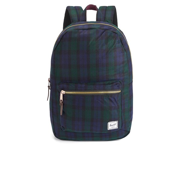 Herschel Supply Co. Select Series Settlement Watch Plaid Backpack - Black