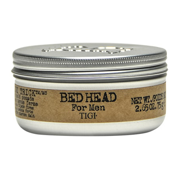 tigi bed head for men slick trick pomade 75g free shipping lookfantastic. Black Bedroom Furniture Sets. Home Design Ideas
