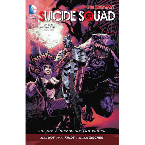 DC Comics Suicide Squad: Discipline and Punish - Volume 04 (The New 52) Paperback Graphic Novel