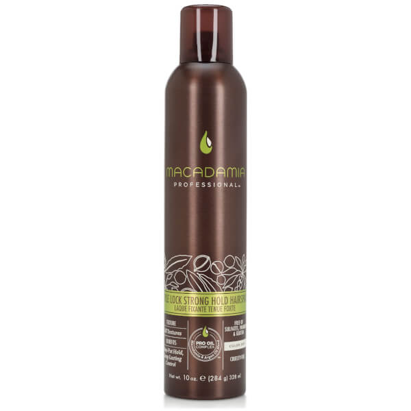 Macadamia Style Lock Strong Hold Hairspray (328ml)