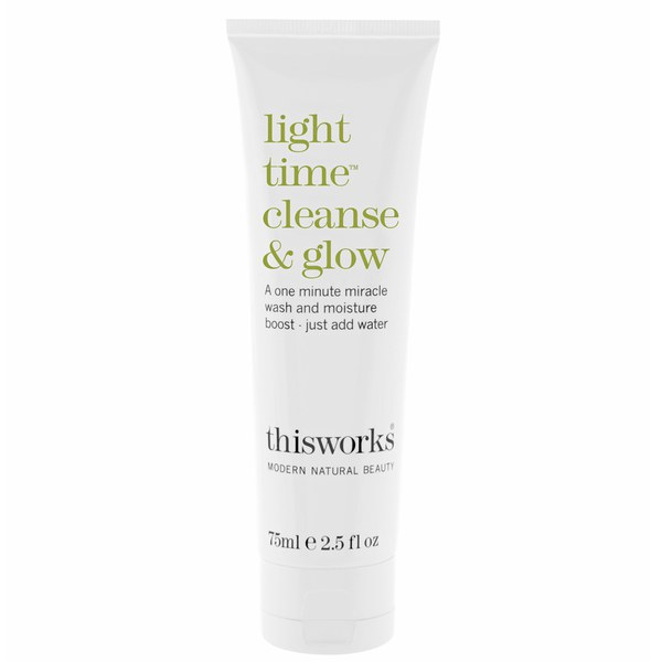 this works Light Time Reiniger und Glow Cleanser (75ml)