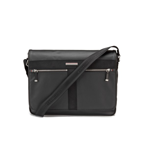 cc2d8d9cda7c Tommy Hilfiger Men s Darren Messenger Bag - Black