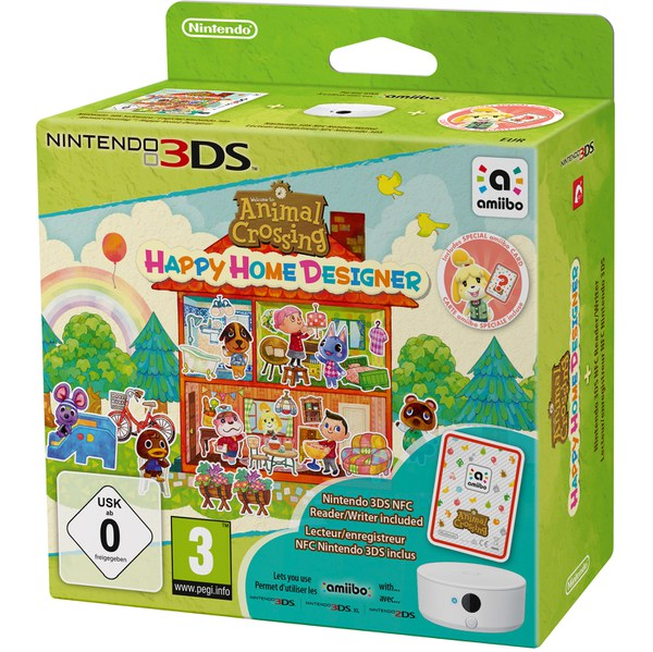 Animal Crossing: Happy Home Designer - Inclut Carte amiibo & lecteur NFC