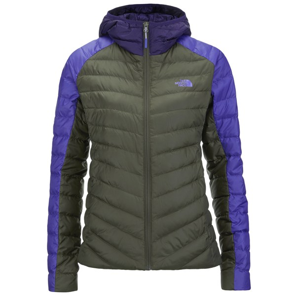 The North Face Women's Tonnero Down Filled Hoody - New Taupe Green