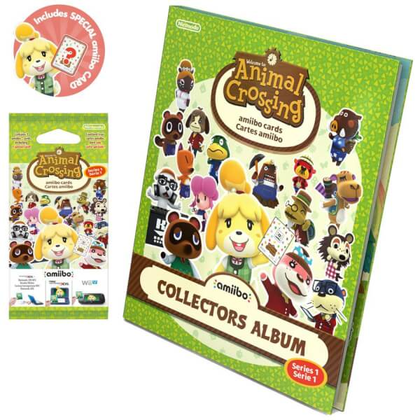 Animal Crossing amiibo Cards Collectors Album - Series 1