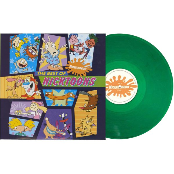The Best of Nicktoons OST (1LP) - Zavvi Exclusive Limited Green Slime Vinyl (400 Only)