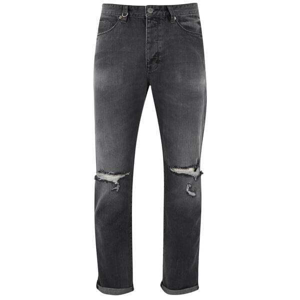 NEUW Men's Studio Relaxed Denim Jeans - Black
