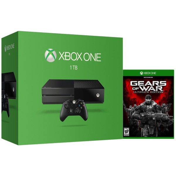 Xbox one 1tb console includes gears of war ultimate edition games consoles zavvi - Xbox one console day one edition ...