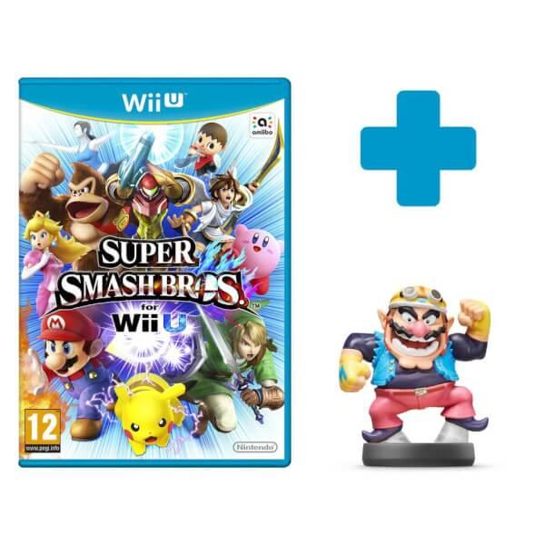 Super Smash Bros. for Wii U + Wario No.32 amiibo