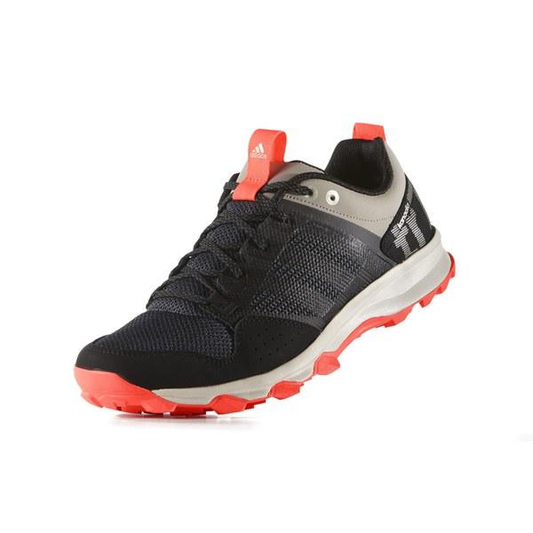 Adidas Uomini Kanadia 7 Da Tr Tracce Delle Scarpe Da 7 Corsa Nero / Rosso d61cef