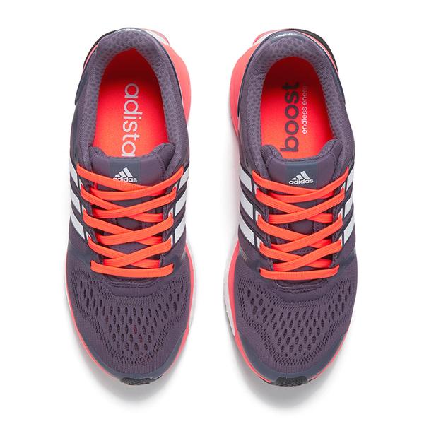 adidas Women\u0027s Adistar Boost ESM Running Shoes - Purple/White/Orange