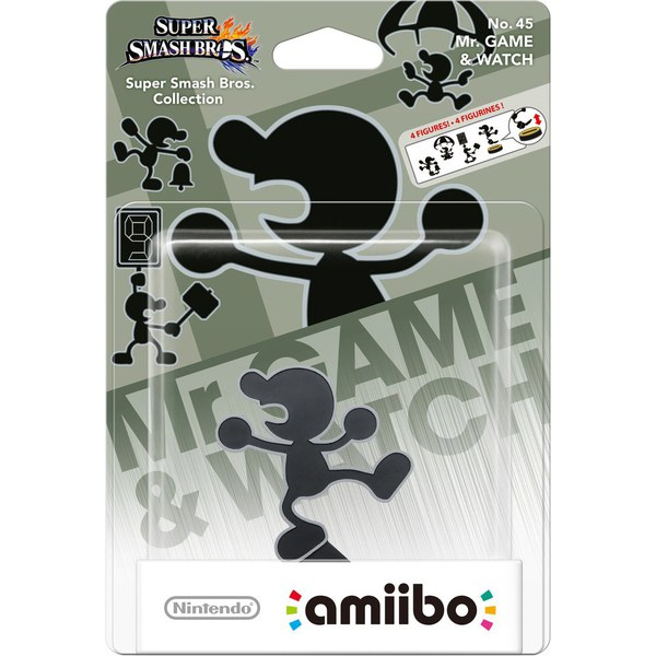 Mr. Game & Watch No.45amiibo
