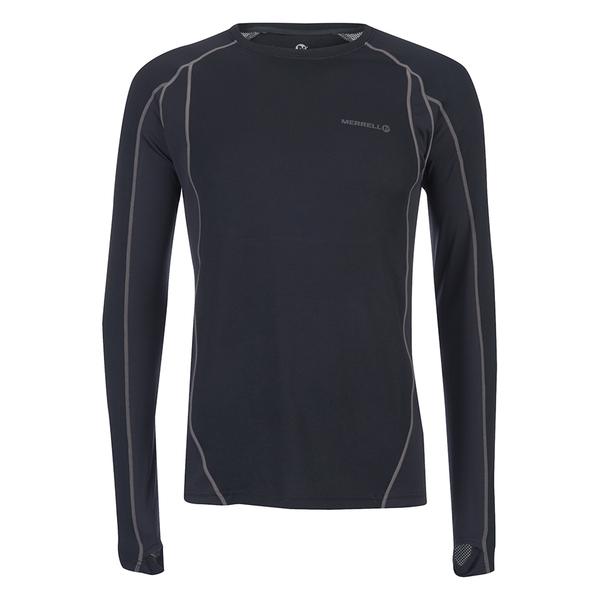 Merrell Fuse Long Sleeve T-Shirt - Black/Shadow