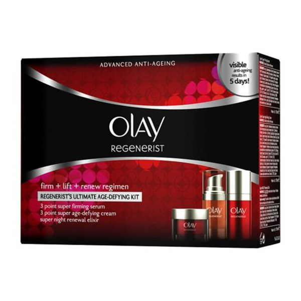 Kit de iniciación Regenerist Advanced Age-Defying de Olay (3 x 15 ml)