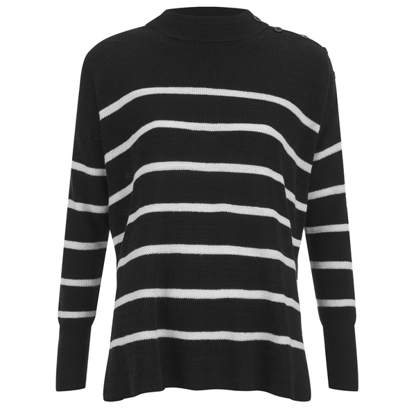 Polo Ralph Lauren Women's Dolman Sweatshirt - Black/White