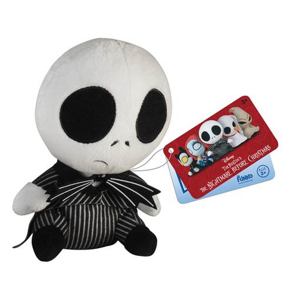 Mopeez Disney Nightmare Before Christmas Jack Skellington Plush Figure