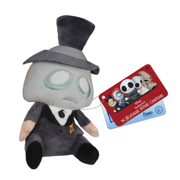 Mopeez Disney Nightmare Before Christmas Mayor Plush Figure