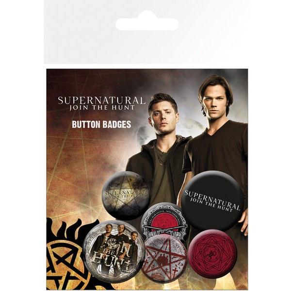 Supernatural Saving People - Badge Pack