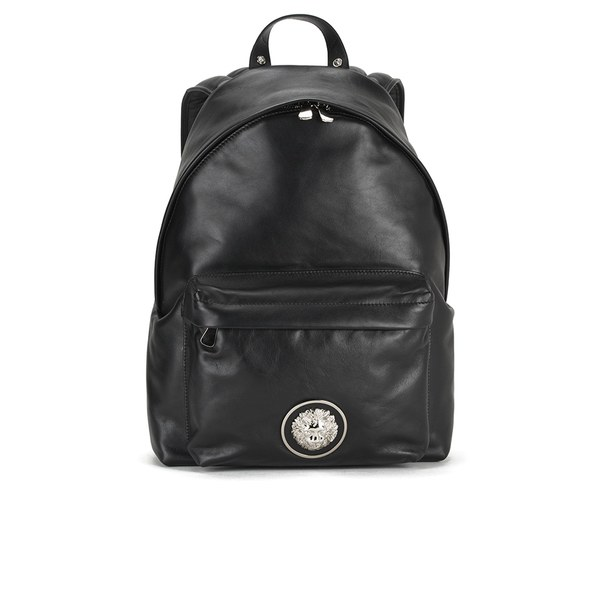 Versus Versace Men s Lion Head Backpack - Black White  Image 1 e5298ef806417
