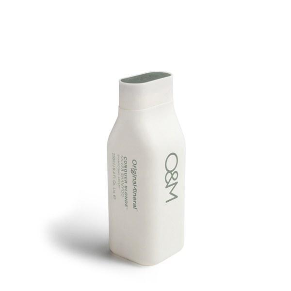Original & Mineral Conquer Blonde Silver Shampoo (250ml)