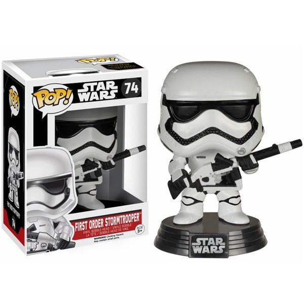Star Wars: The Force Awakens Episode VII First Order Stormtrooper and Blaster Pop! Vinyl Figure