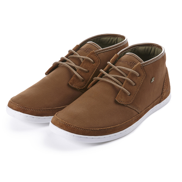 Boxfresh Men's Milford Garment Dye/Suede Chukka Boots - Mid Brown