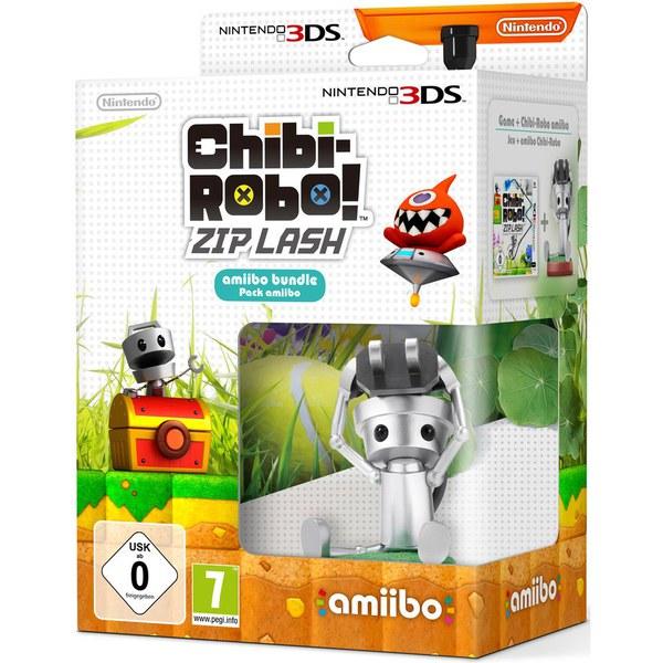 Chibi-Robo! Zip Lash + Chibi-Robo amiibo