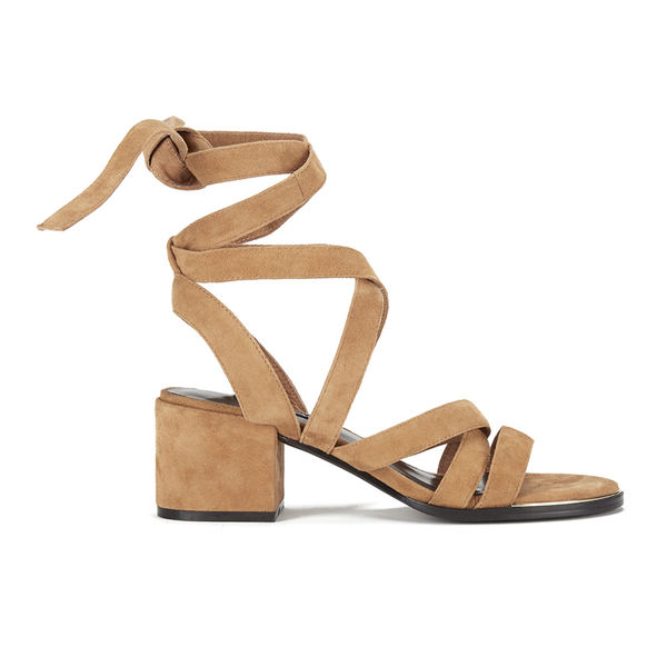Senso Women's May Suede Strappy Heeled Sandals - Camel
